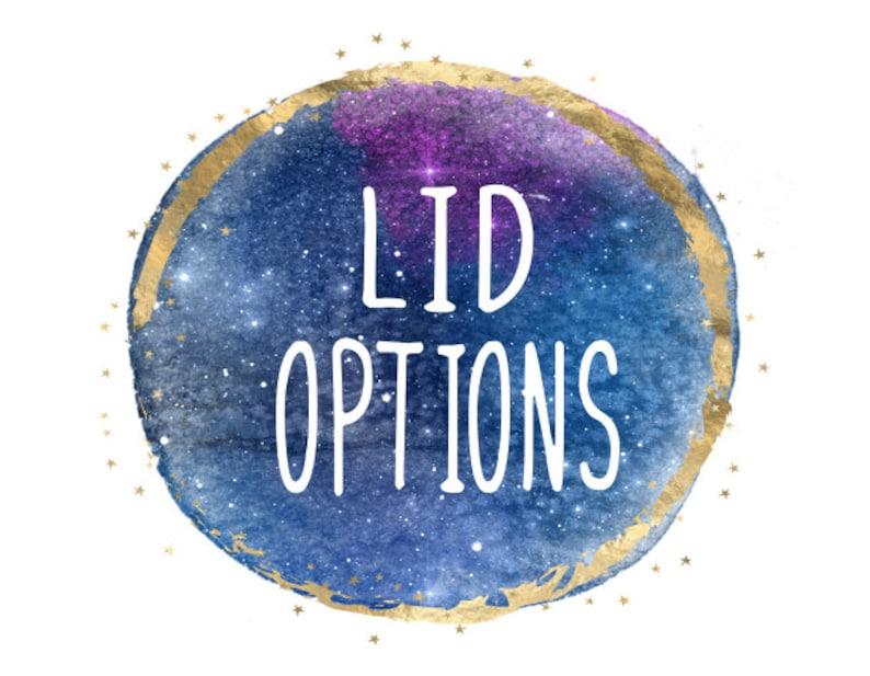 Lid Options for Tumbler Listing