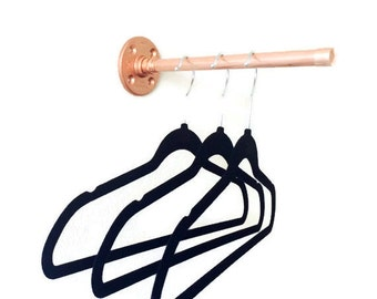 Copper Pipe Copper Clothing Rack Rod