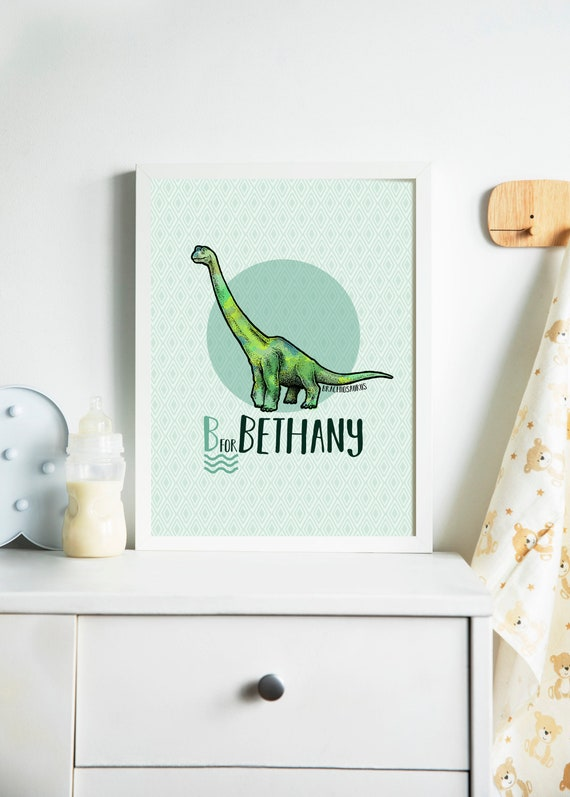 Dinosaur Print Custom
