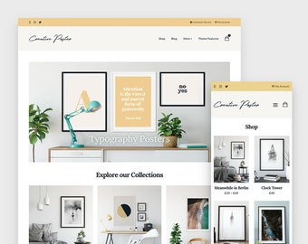 Creative Poster - Minimal WooCommerce and WordPress Theme Built for Creatvies