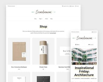 Scandinavian - Minimal WooCommerce/WordPress Theme for Online Shops and Blogs