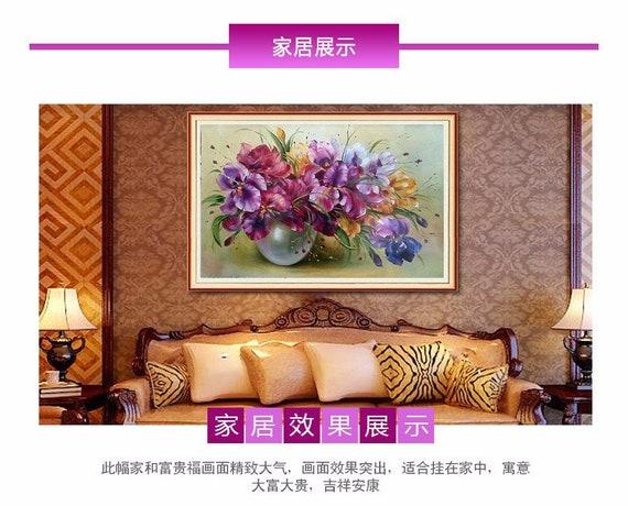 LK/_ 5D DIY Diamond Embroidery Painting Owl Decorative Home Room Wall Decor Bri