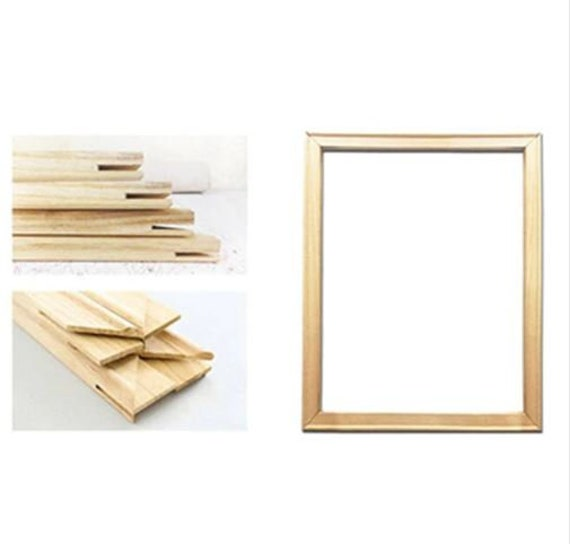DIY Frame Painting By Numbers Wooden 40x50cm Combination Wall Art Home Decors