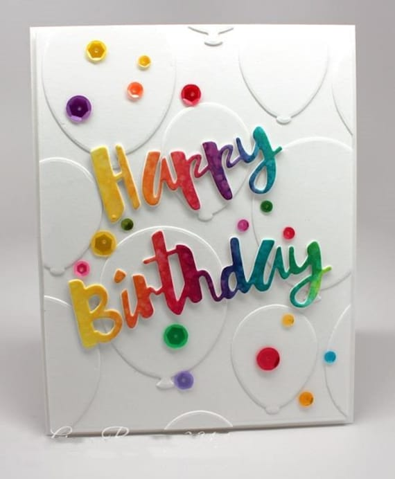Birthday Candle label Metal Cutting Dies Stencil For Scrapbooking DIY Album Card