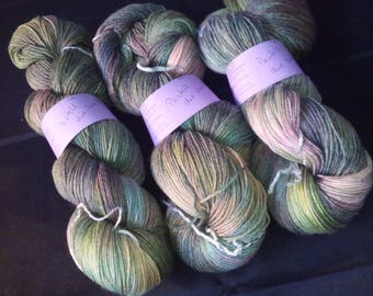 """100g socks wool with bamboo """"pastel the second"""""""