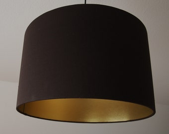 """Lampshade """"Brown-gold"""""""
