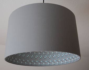"""Lampshade """"Triangles-stone"""""""