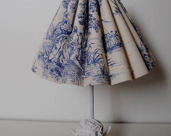 "Table lamp ""toile de Jouy"" (table lamps)"