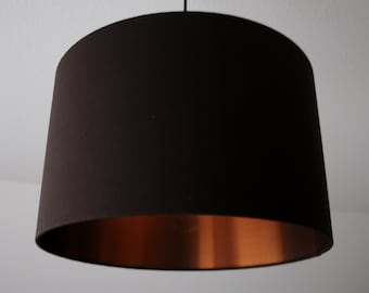 """Lampshade """"Brown-Copper"""""""