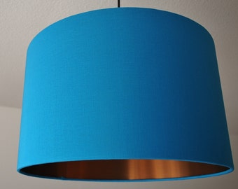 """Lampshade """"Turquoise-Copper"""""""