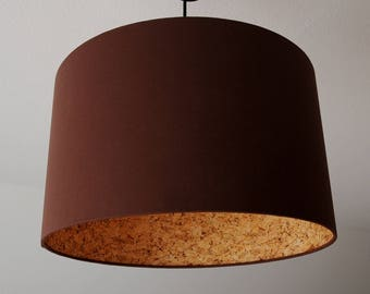 """Lampshade """"Brown-cork"""""""