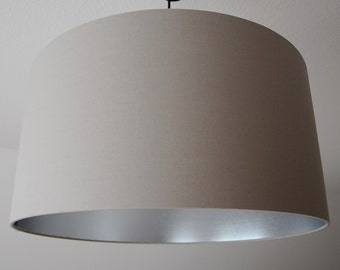 """Lampshade """"Taupe-Silver"""""""