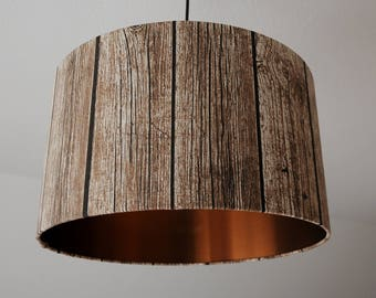 """Lampshade """"Shabby-copper"""""""