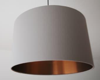 """Lampshade """"Stonegray-Copper"""" (Stone grey-copper)"""
