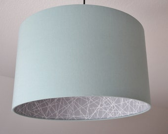 """Lampshade """"Mint-scribble"""""""