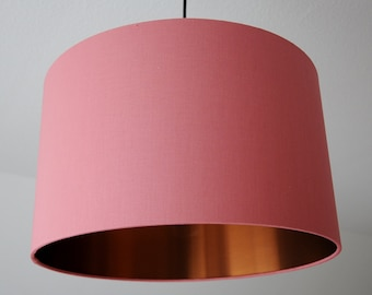 "Lampshade ""Coral-Copper"" (coral)"