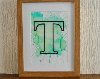 Initial Ink Frames