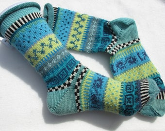 Pattern socks mAh Gr. 39 / 40