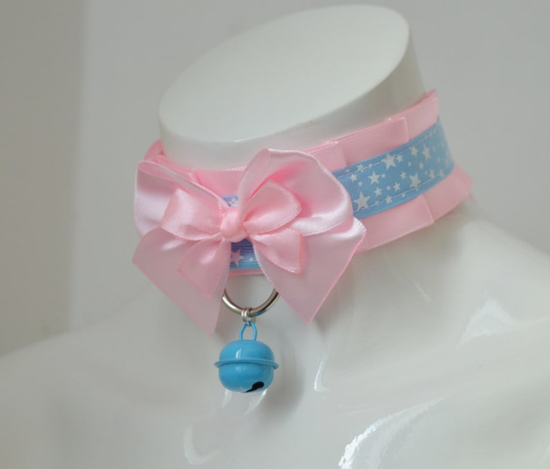 sissy daddy kink abdl Starry little Made to Order choker mdlg ddlb little princess cgl pet play kittenplay petplay DDLG collar