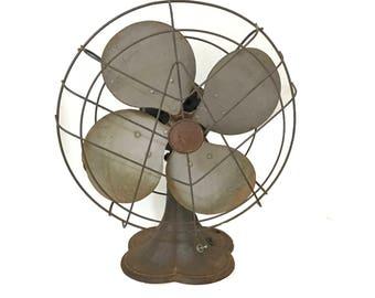 Delicieux Vintage Fan Vintage Fan Home Decor Nonworking Fan Decor Fan Photo Prop Antique  Fan Desk Fan Mid Century Desk Fan Table Fan Industrial Fan