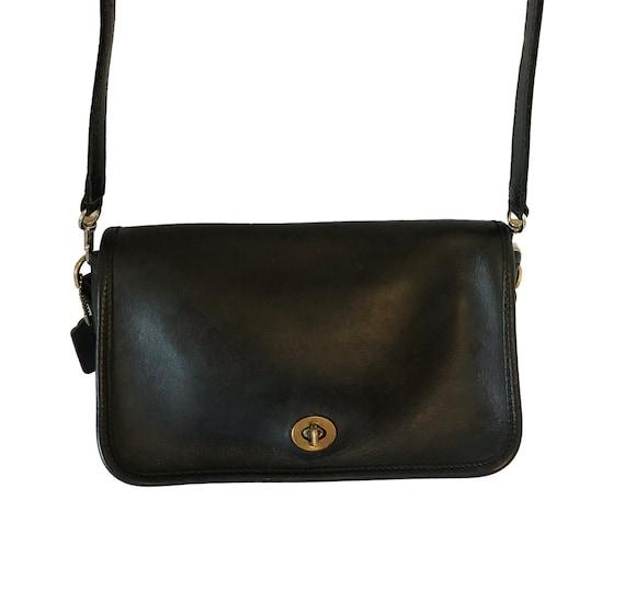 f1ba896b7b51 Vintage Coach Bag Coach Rambler 9735 Coach Handbag Black Coach