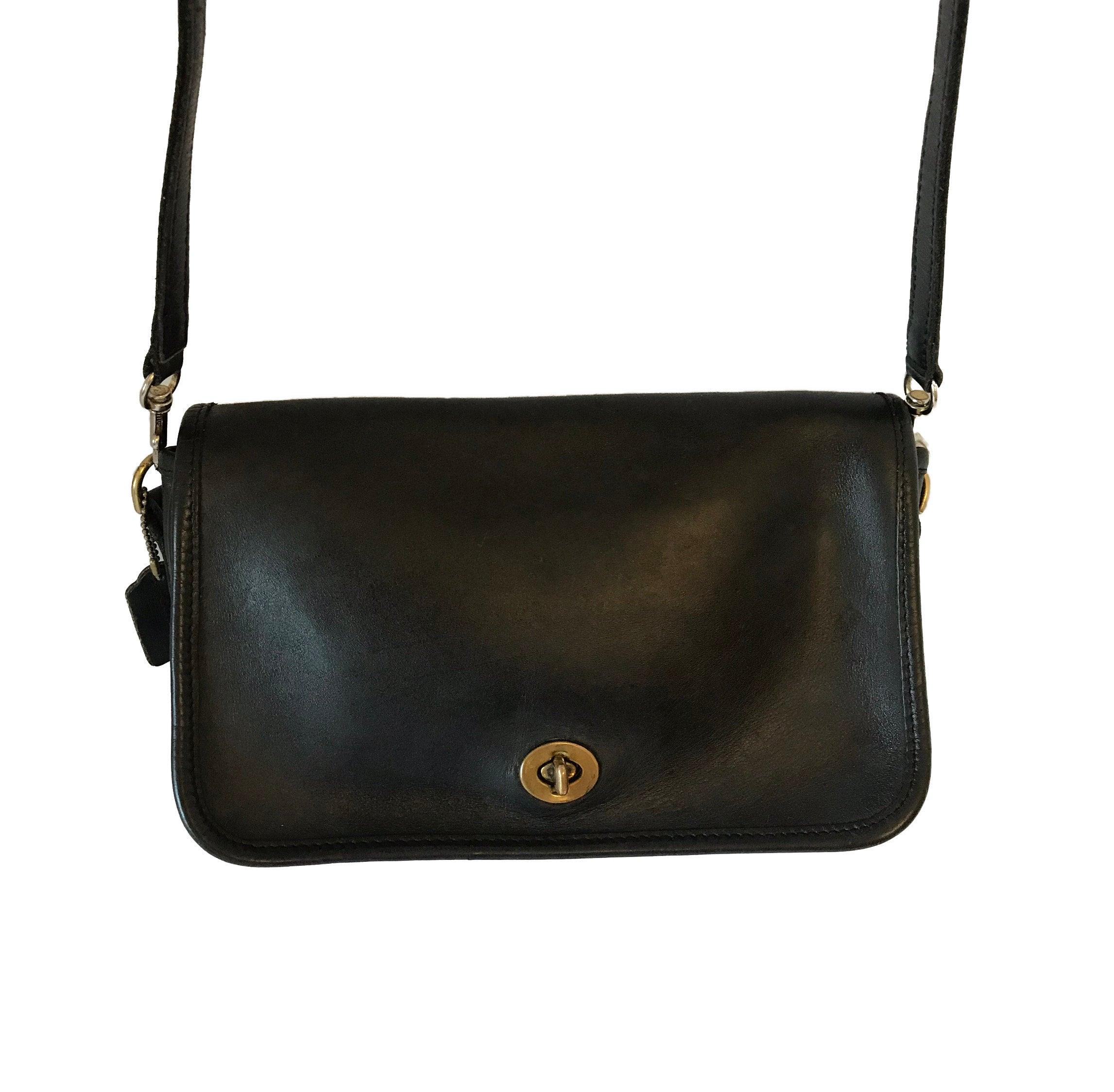 689a63841a6d Vintage Coach Bag Coach Rambler 9735 Coach Handbag Black Coach