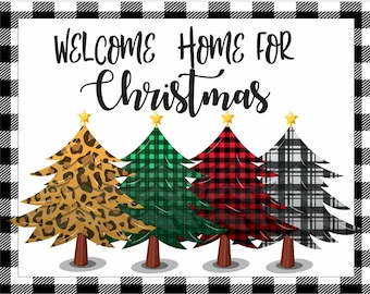 8 METAL WREATH MAKING Sign Adhesive Mounts Included Christmas #30 Merry Christmas Winter Ribbon Bulbs Holiday Gift