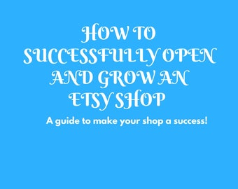 Etsy start up Guide