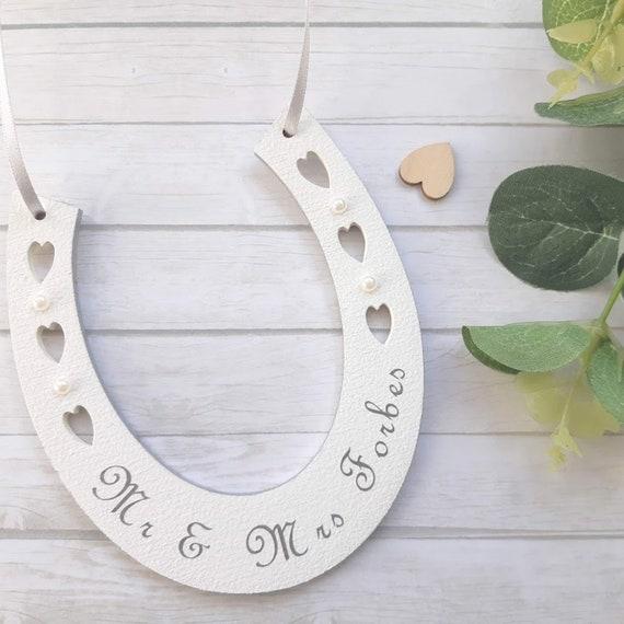 Lucky Wedding Gifts: Lucky Wedding Horseshoe Keepsake Lucky Horseshoe Gifts