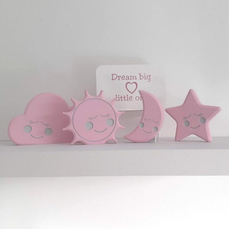 Baby room decorations pink nursery decor girl Baby Girls bedroom Girls nursery ornaments Baby girl nursery decoration Girl room decor