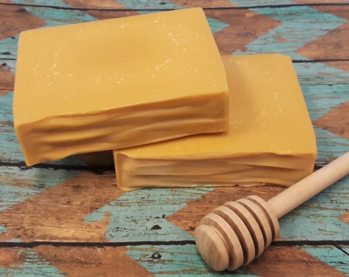 Wild Honey & Shea Handcrafted Soap (5 oz.) - Cold Process