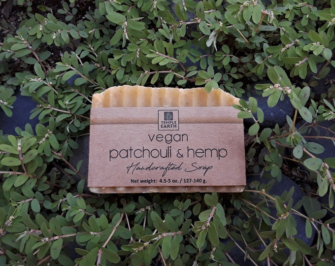 Vegan Patchouli & Hemp Soap