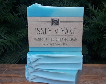 Issey Miyake (L'Eau D'Issey Pour Homme) Soap (5 oz.) - Handcrafted Organic Soap