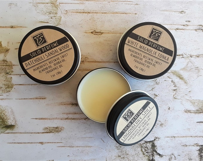 Featured listing image: Solid Perfume/Cologne (1 oz.) - Long-lasting Fragrance for Him and Her