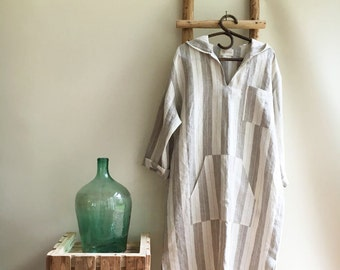 Men linen robe, mens kaftan, linen kaftan, men caftan, plus size robe, men's kaftan, plus size caftan, kaftan men, linen pyjamas, mens gift