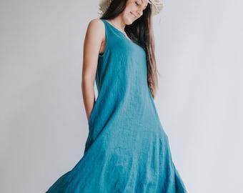 """Comfortable Linen Dress """"Anna"""""""
