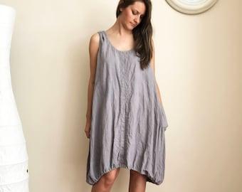 Sleeveless Dress, Loose linen Dress, Sleeveless Tunic Dress, Tunic for women, Plus size tunic, Plus size dress, linen tunics for women