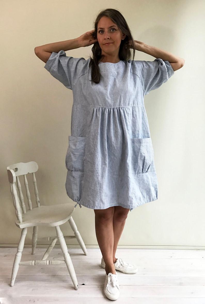 Womens Tunic, Plus Size Tunic Dress, Linen Tunic, Summer Tunic Dress,  Summer Dress, Loose Tunic Dress, Linen Dress, Plus size dress
