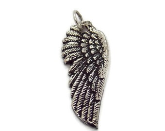 Angel Wing Pendant  .925 Sterling Silver