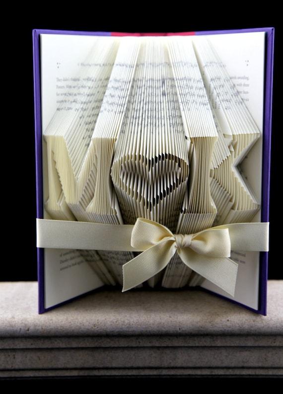 Birthday Gift For Her Folded Book Custom Girlfriend