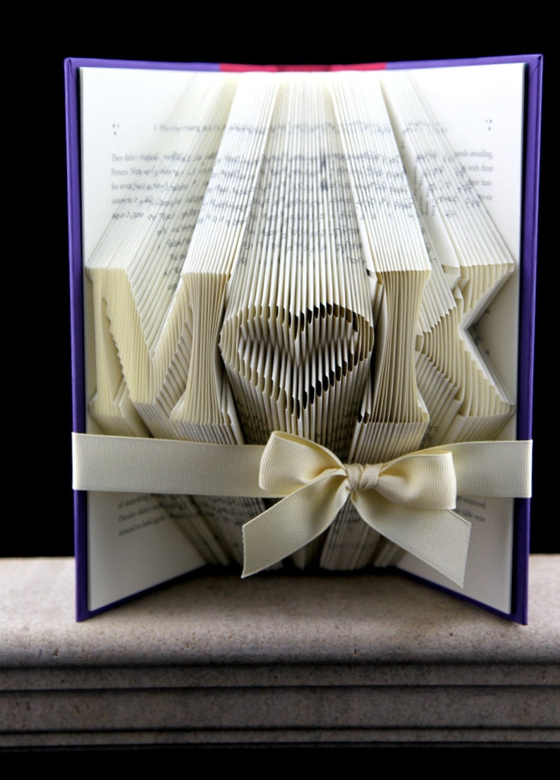 Birthday Gift For Her Folded Book Custom Girlfriend