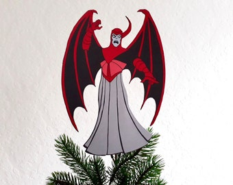 Venger Christmas tree Topper,D & D, Dungeons and Dragons, Gift for Geeks, Geeky Christmas, alternative decor