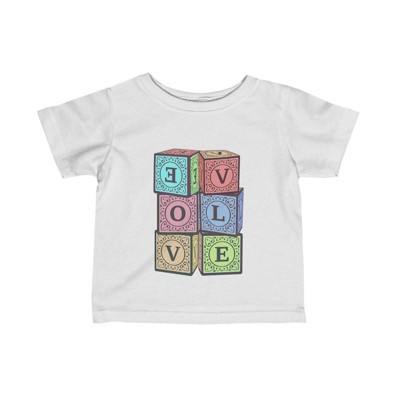 Infant Tee EVOLVE Baby Blocks