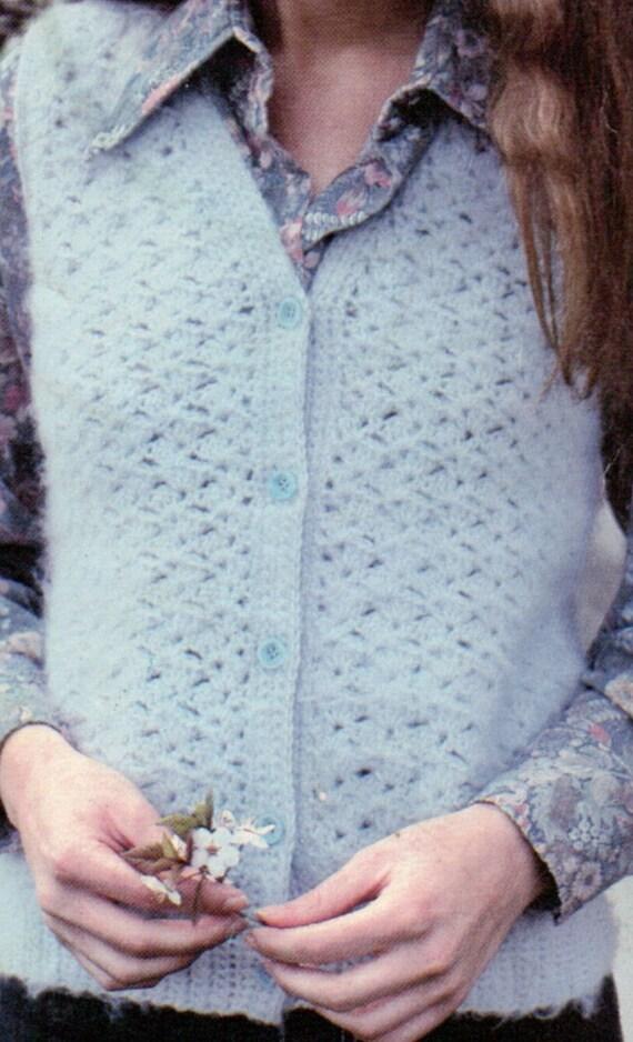 Crochet Pattern Central / PDF Instant Download / Crochet Vest ...