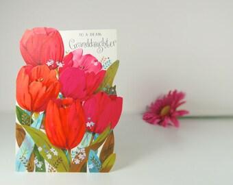 Vintage Easter card for granddaughter, Hallmark