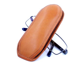Leather Glasses Case, Sunglass Case, Glasses Case, Gift for Her, Reading Glasses Case, Eyeglass Case, Personalized Glasses Case