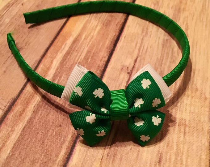 "2"" Baby St. Patrick's Day Headbands"