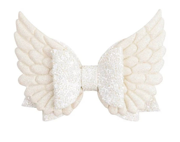 ANGEL FAUX ME,  Hair Bow Accessory