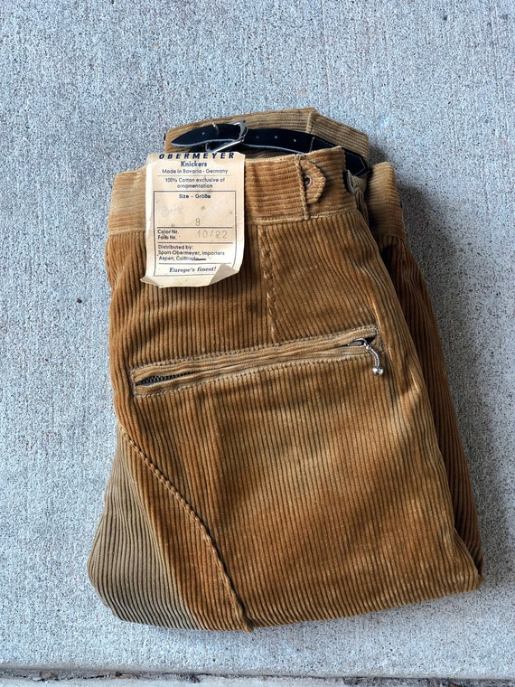 NOS 1940/50s Obermeyer Boys Ski Knickers