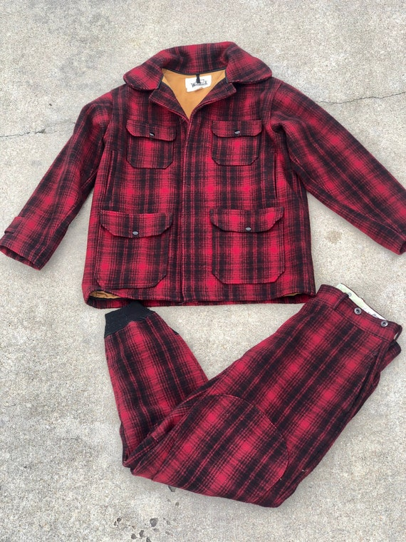 Late 60s Woolrich Hunting Jacket and Pants Set